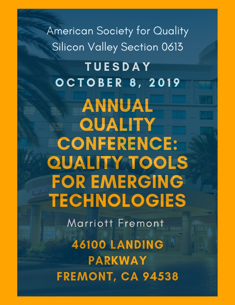 American Society for Quality Silicon Valley Section 0613